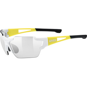 UVEX Sportstyle 803 Race VM Bike Glasses Small yellow/white